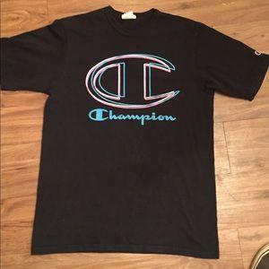 Champion Black Large Shirt